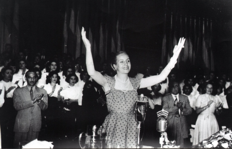 Eva Perón was an avid supporter of women's rights