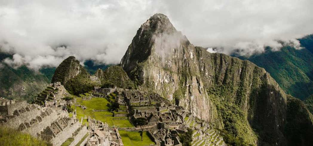 Machu Picchu was once home to the Incas