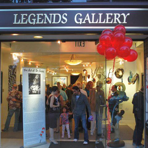 Legends Gallery houses exquisite works of fine art