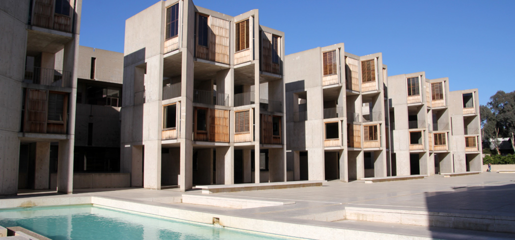 "The architecture of Salk Institute in La Jolla, California, is referred to as the ""Acropolis of Modernism"""