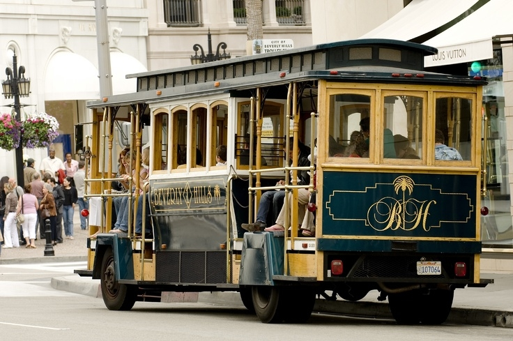 The Beverly Hills Trolley Tours