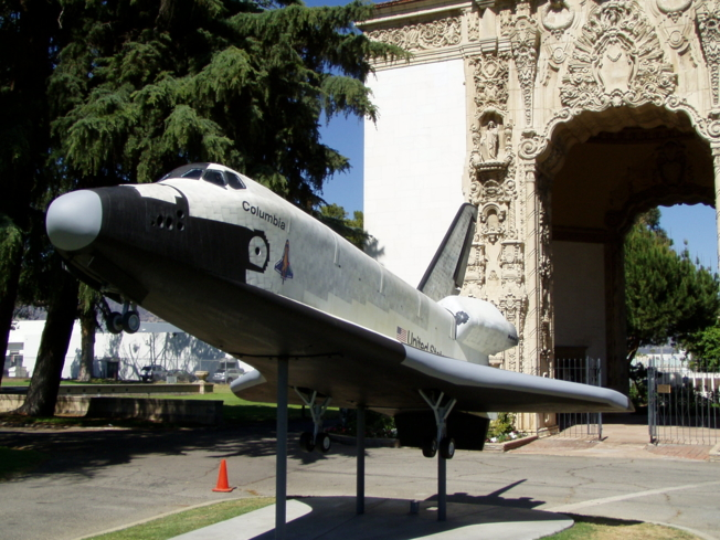 The Burbank Aviation Museum, also know as the Portal of Folded Wings