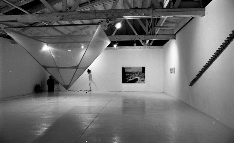 One of the many exhibits on display at Cirrus Gallery