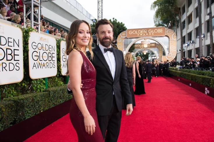 Celebrities hit the red carpet for The Golden Globes in Beverly Hills, California