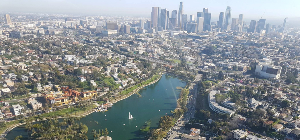 Get a bird's-eye view of Los Angeles with Héliclass - Photo © Héliclass