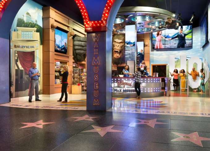 The Los Angeles outpost of the Hollywood Wax Museum