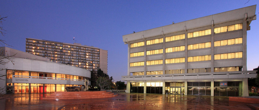 The JACCC building, located in the Little Tokyo neighborhood in Downtown Los Angeles.