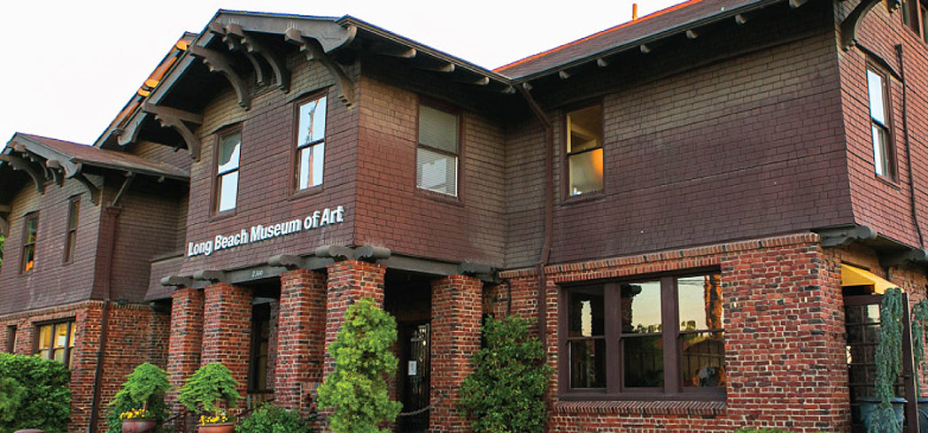 The Long Beach Museum of Art resides in the 1911 Elizabeth Milbank Anderson House