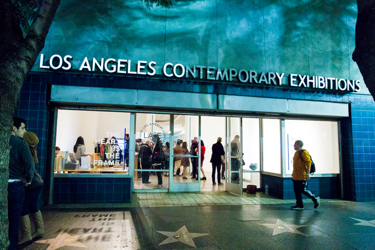 A view of Los Angeles Contemporary Exhibitions or LACE