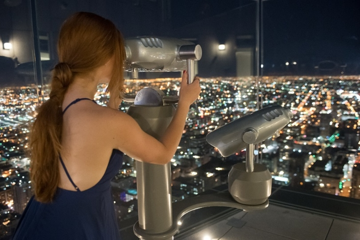 Get 360-degree views of LA and the surrounding area