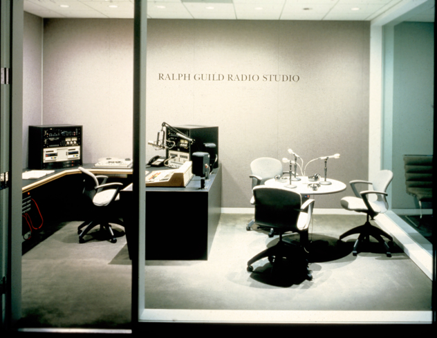 The Ralph Guild Radio Studio at The Paley Center for Media in Beverly Hills, California