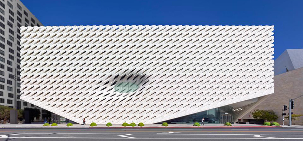 The Broad epitomizes contemporary art in its architecture and exhibitions