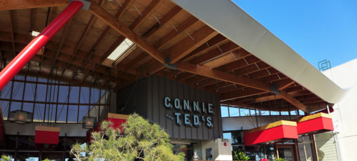 Connie and Ted's in West Hollywood, one of GAYOT's Top 10 Happy Hour Bars & Restaurants in Los Angeles
