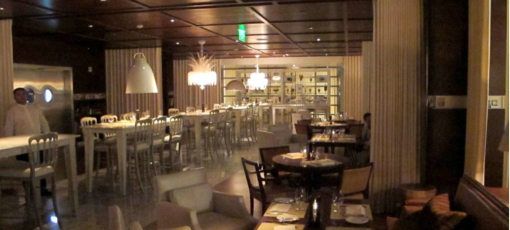 Trés by José Andrés inside SLS Hotel at Beverly Hills, one of GAYOT's Top 10 Power Lunch Restaurants in Los Angeles