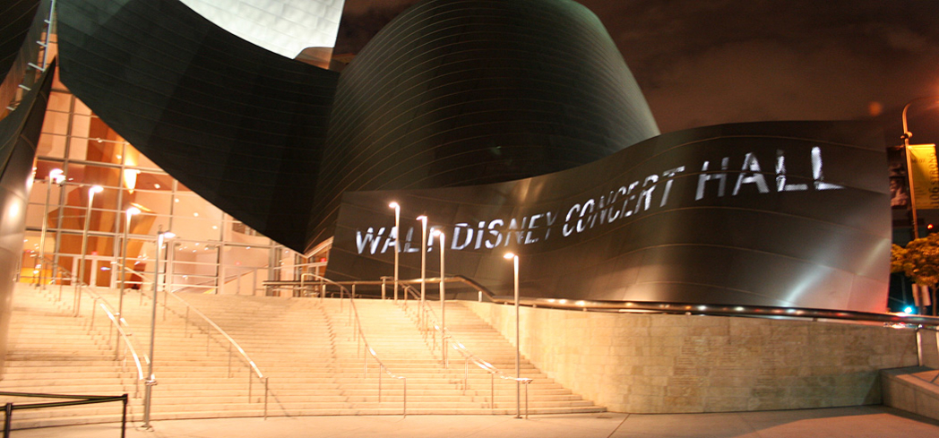 The Walt Disney Concert Hall is home to the Los Angeles Philharmonic