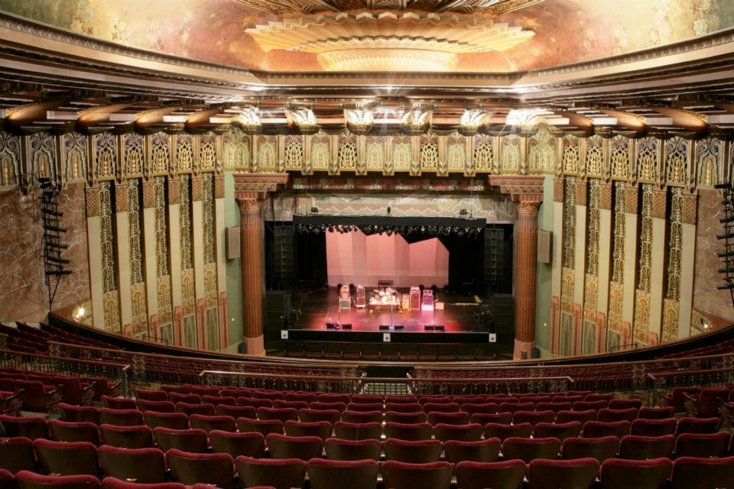 A look inside The Wiltern in Los Angeles, California