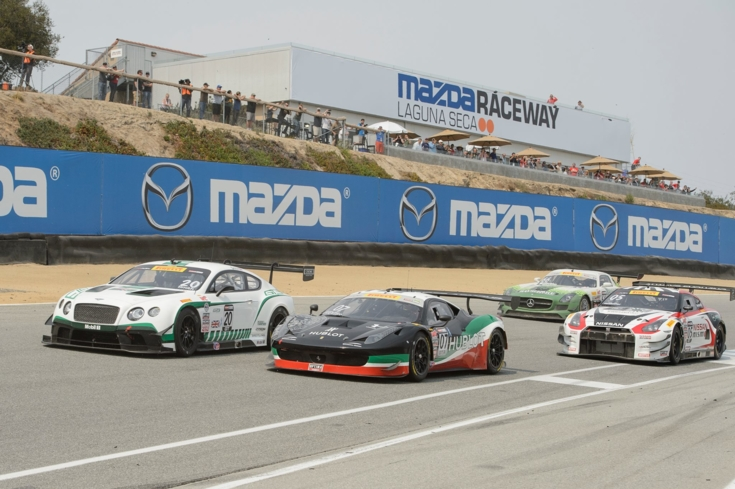 Feed your need for speed at the Mazda Raceway Laguna Seca