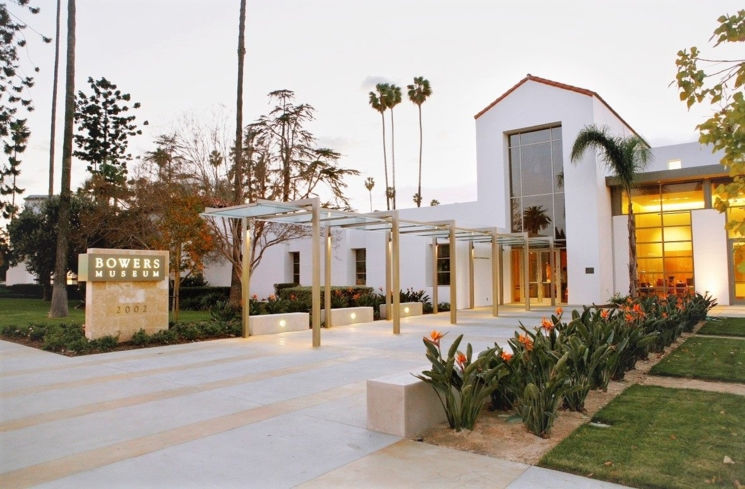 Bowers Museum in Santa Ana, California