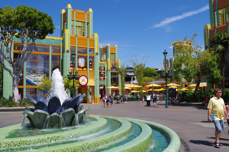 You'll find shops and restaurants in Downtown Disney