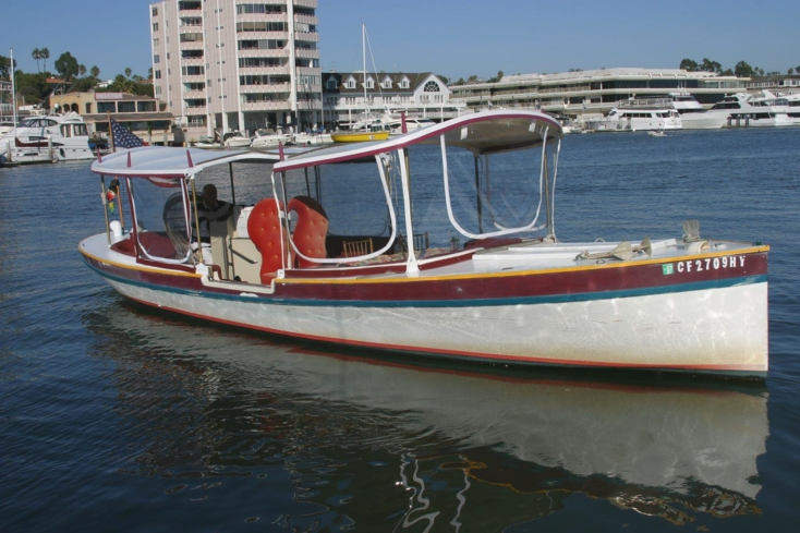 Enjoy an intimate ride with Gondola Romance in Newport Beach, California
