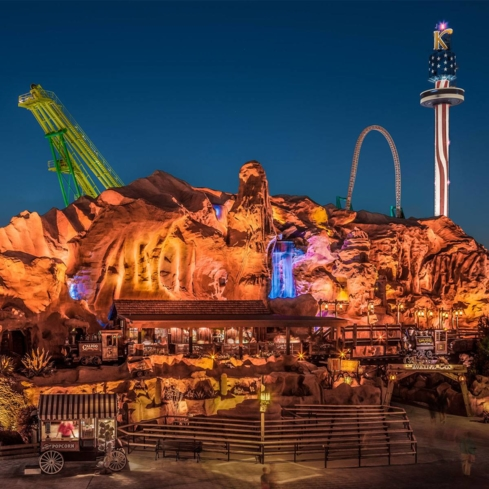 Enjoy thrill rides, shows and more at Knott's Berry Farm in Buena Park, California