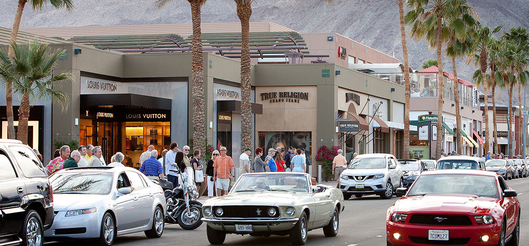 "El Paseo Shopping Palm Desert is touted as the ""Rodeo Drive of the Desert"""