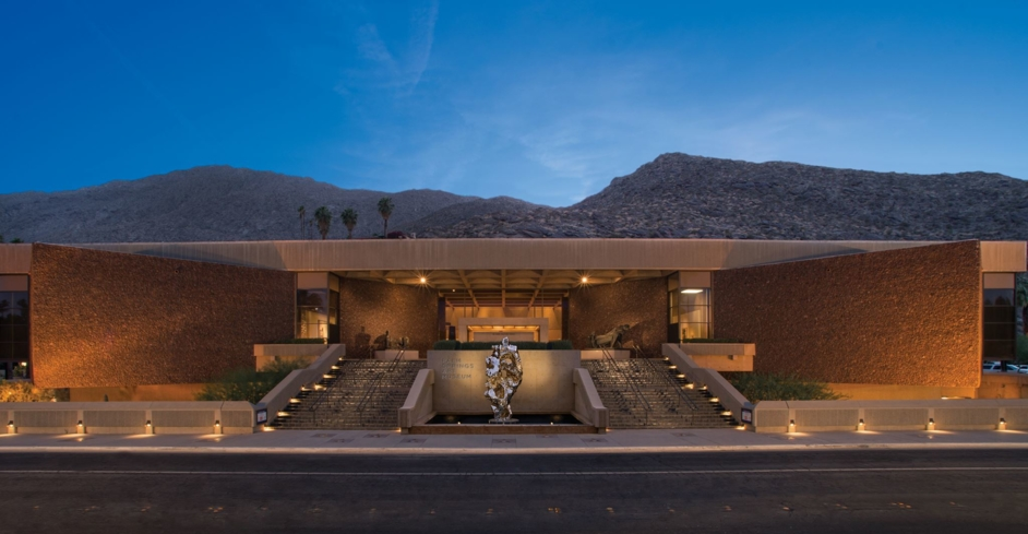 Get a taste of culture in the Coachella Valley at the Palm Springs Art Museum (photo credit: Sherrill and Associates, Inc.)