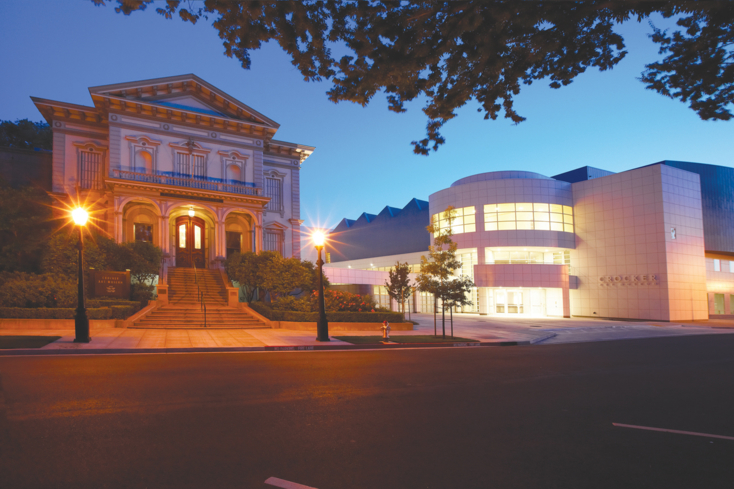 The Crocker Art Museum in Sacramento
