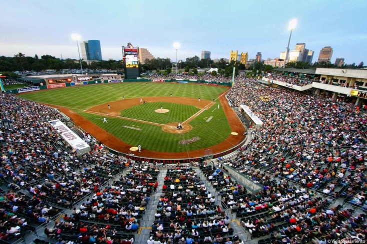 See the River Cats in action at Raley Field in Sacramento
