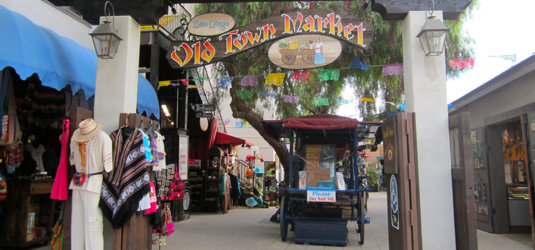 """Old Town San Diego is touted as the """"Birthplace of California"""""""