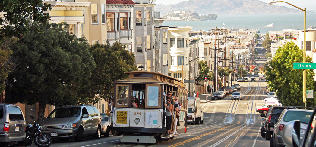 The San Francisco Cable Car is the world's only remaining manually operated cable car system