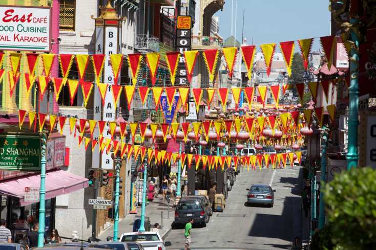 San Francisco's Chinatown attracts more visitors annually than the Golden Gate Bridge