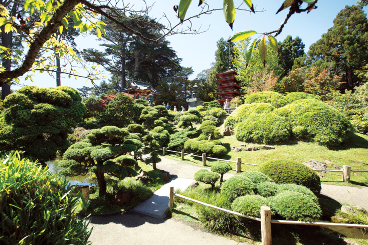 The Japanese Tea Garden at Golden Gate Park