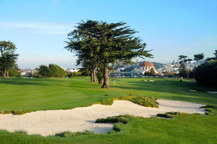 Presidio Golf Course in San Francisco