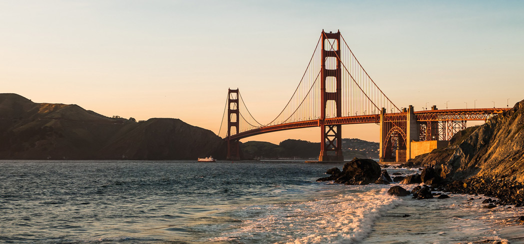 A visit to California's Golden Gate Bridge is one of GAYOT's Best Things to Do in San Francisco
