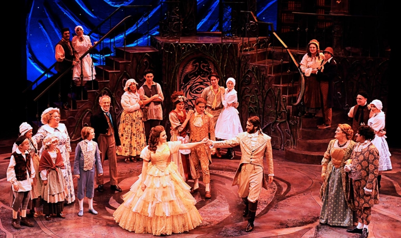 """A performance of """"Beauty and the Beast"""" at Pacific Conservatory Theatre in Santa Maria, California"""