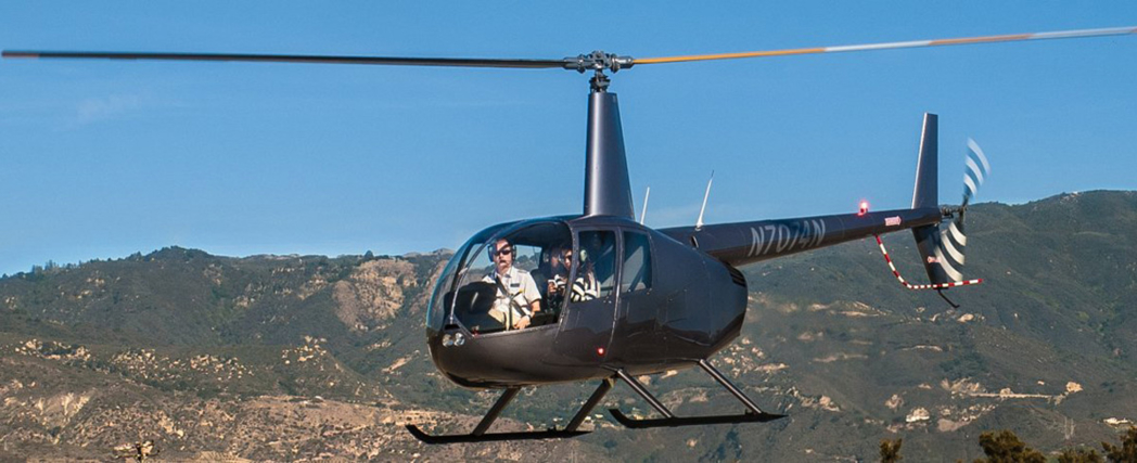 Take in the views from above with Santa Barbara Helicopter Tours