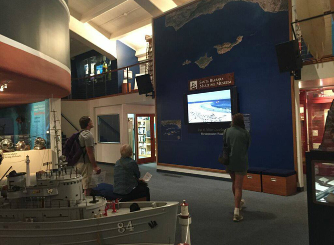 Learn all about the California coast at the Santa Barbara Maritime Museum