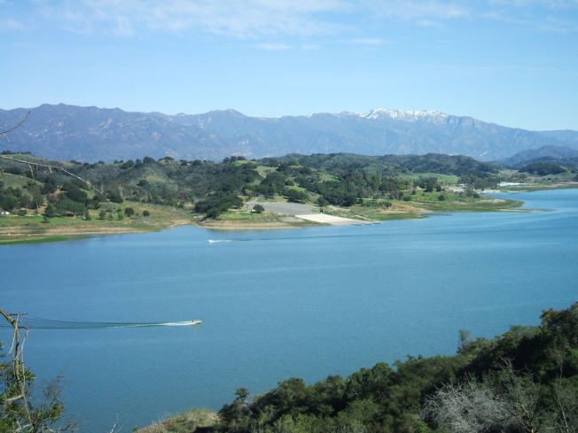 Go boating or fishing at Lake Casitas Recreation Area in Ventura, California