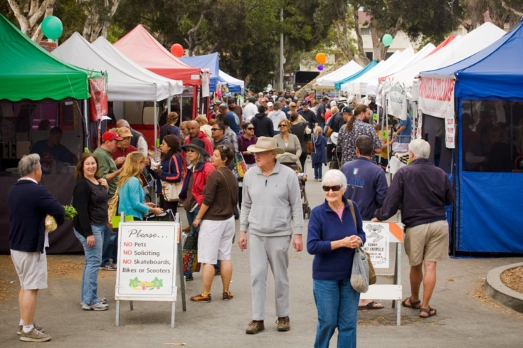 For fresh produce and homemade goods, shop at the Ventura County Farmers' Market