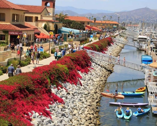 Shop, dine and play at Ventura Harbor Village