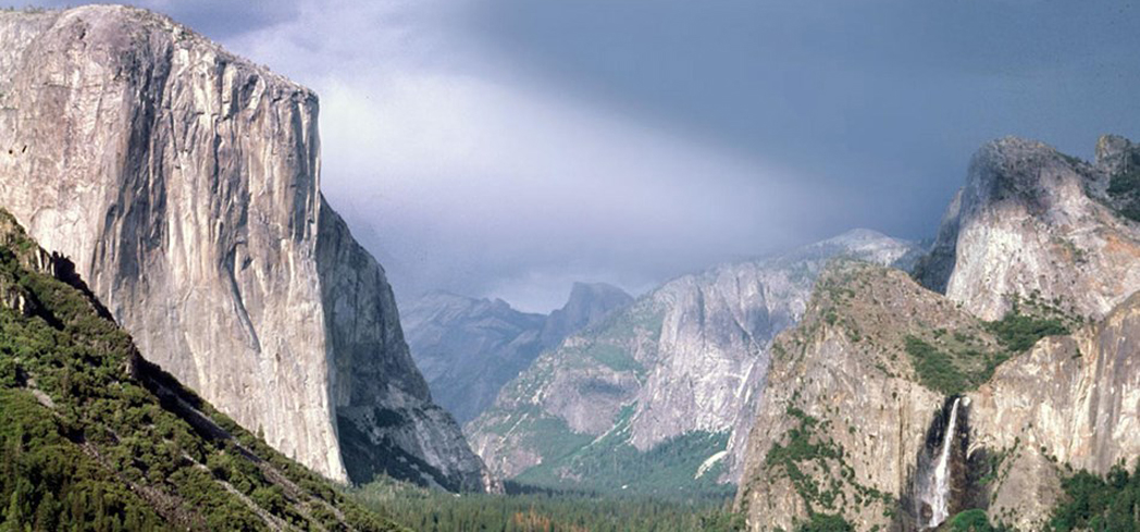 Yosemite National Park is a backpacker's paradise and a rock climber's mecca