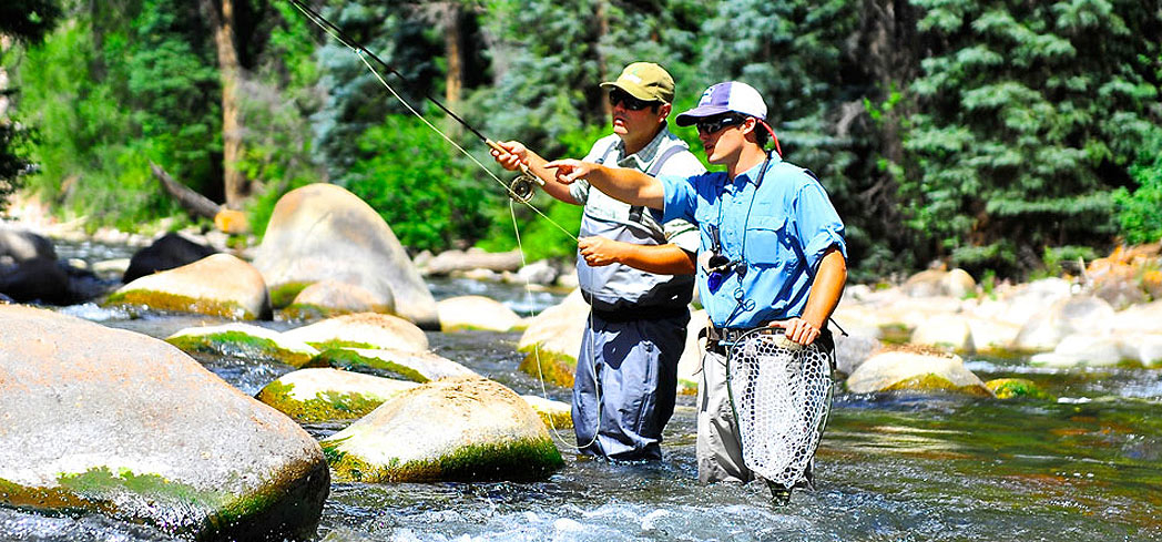 Get a lesson in fly fishing with The Little Nell