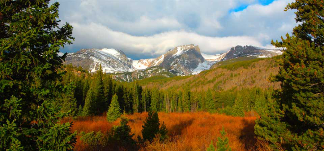 Rocky Mountain National Park has more than 300 miles of trails