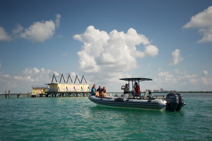 A boat tour of Miami with Ocean Force Adventures