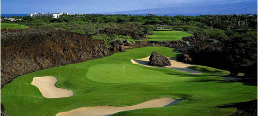 Mauna Lani North Course, one of GAYOT's Best Golf Courses in Hawaii