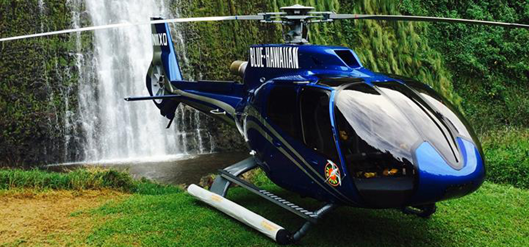 Blue Hawaiian Helicopters offers a two-hour tour that allows you to see the entire Big Island