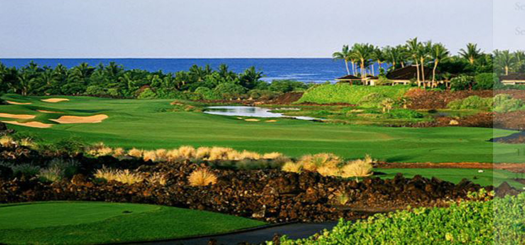 The Hualalai Resort is home to two courses