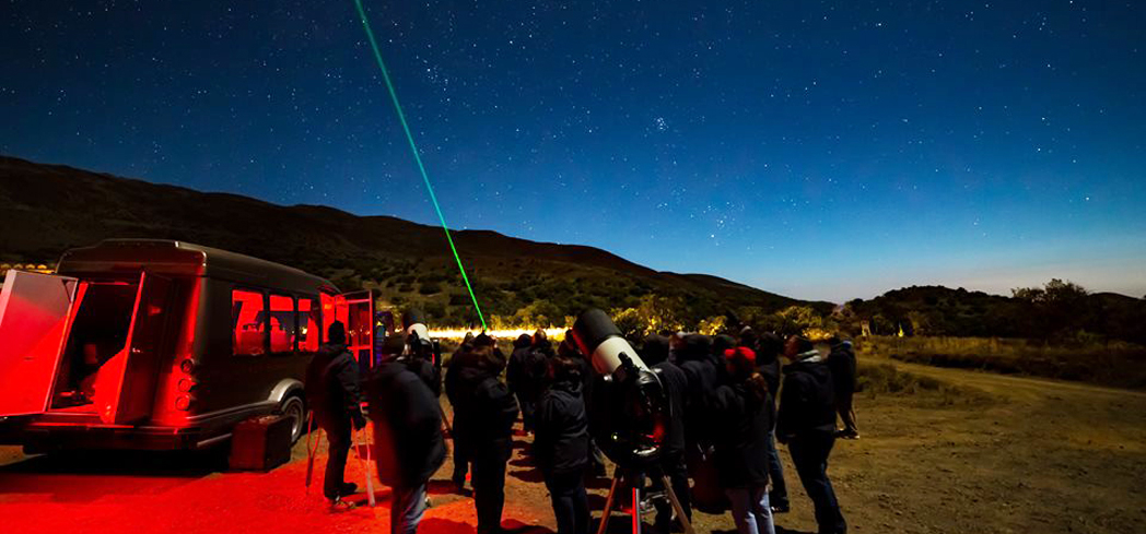 Take a guided stargazing tour to the summit of Mauna Kea