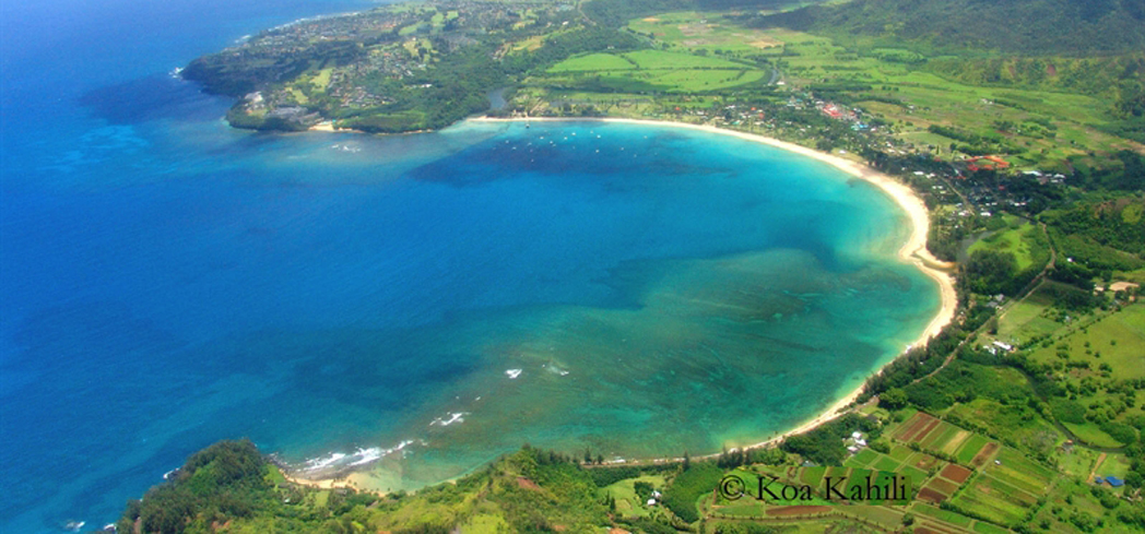 Hanalei Bay Beach has three county facilities that offer a variety of camping and picnicking
